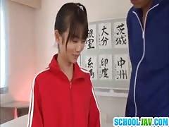 Sexy Schoolgirl Asuka Hoshina Fucked