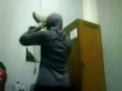 indonesian- hijab girl moaning