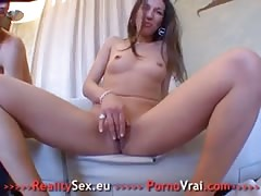 Creampie Hot young Arab girl French amateur