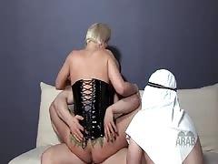 Arab Slave American Mistress Crucifixion Foot Fetish Worship