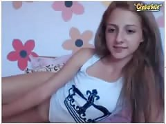 Young Teen smoking on Chat