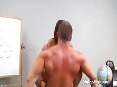 Teacher Lets Students Ride Him