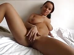Home made video POV  Laura Lion fucked in her bedroom