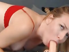 Cute Blonde Teen Plays her Tight Pussy