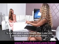 FemaleAgent. Vision of beauty and her dripping wet pussy