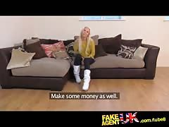 FakeAgentUK Quick cash needed for Czech girl with an amazing ass