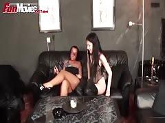 FunMovies Two horny German sluts sharing a cock