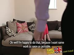 FakeAgentUK 2nd dose of blowjobs, rimming and fucking for Tall dirty blonde