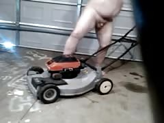 trying to start the lawnmower pt4