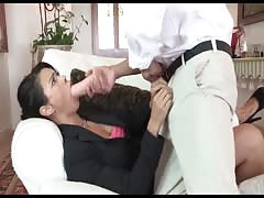 Mean stepson fucks and baptizes his submissive, class, asian stepmom