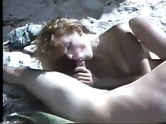 Amateur beach fucking