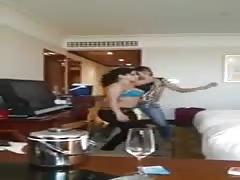 Indian girl dances