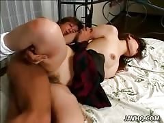 Sexy school girl gets her wet pussy fucked so hard