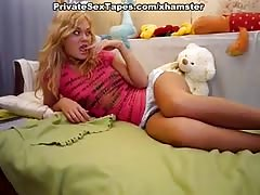 Amateur blonde did not mind incredible hot homemade porn