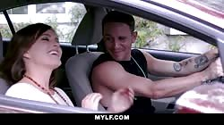 MYLF - Krissy Lynn Sucks Her Stepsons Cock