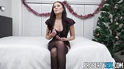 PropertySex - Two Canadians have Christmas sex in America